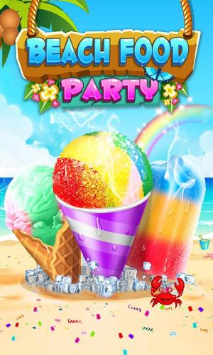 Android Food Maker! Beach Party Screen 3