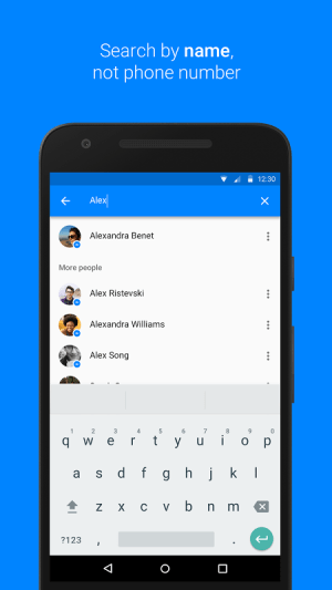 Android Messenger Screen 4