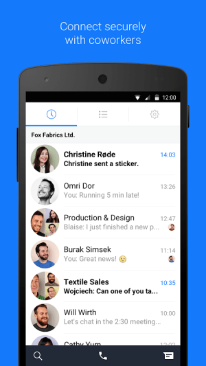 Android Work Chat by Facebook Screen 4