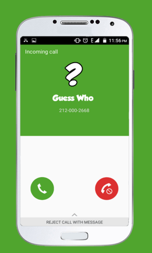 Android Voice Changer Caller Screen 1