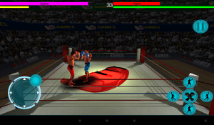 Android 3D Boxing Screen 2