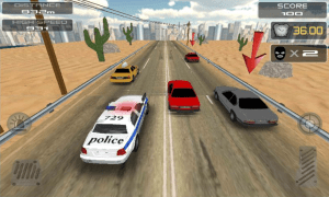 Android POLICE Clash 3D Screen 4