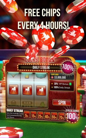 Android Zynga Poker Screen 2