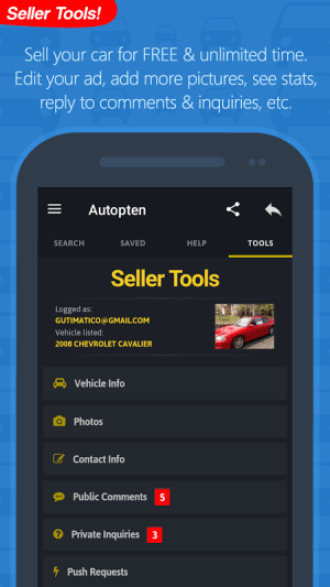 Android com.autopten.cheapcarsforsale Screen 16