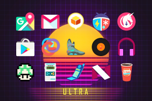 Android Ultra Icon Pack Screen 10