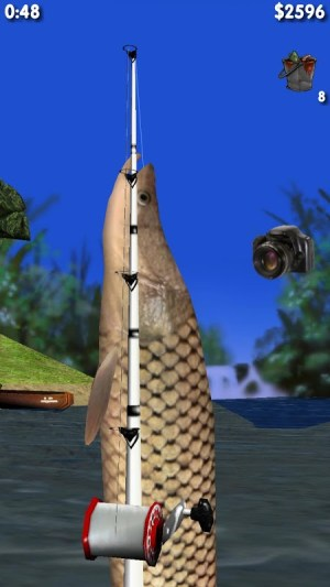Android Big River Fishing 3D Screen 1