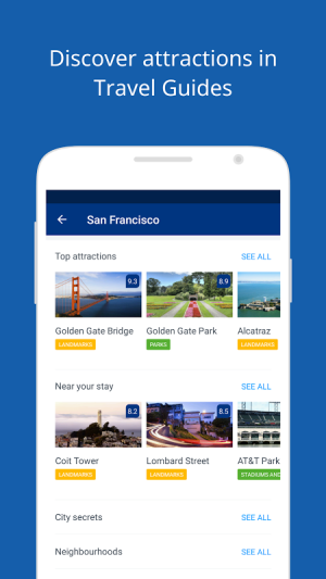 Android Booking.com Hotel Reservations Screen 9