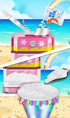 Android Food Maker! Beach Party Screen 2