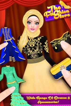 Android Hijab Fashion Doll Dress Up Screen 11