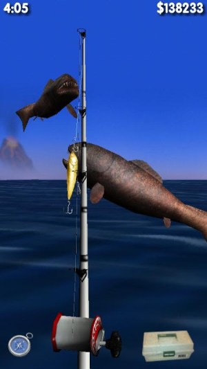 Android Big Dino Fishing 3D Screen 4