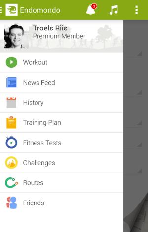 Android Endomondo Sports Tracker PRO Screen 9