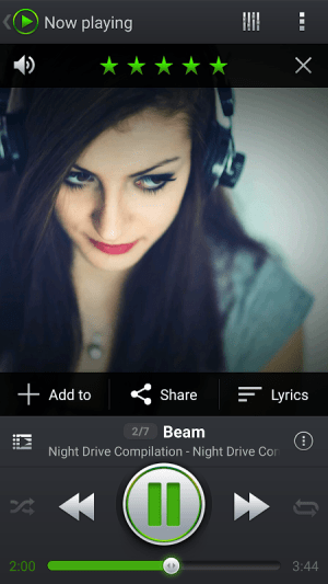 Android PlayerPro Music Player Screen 6
