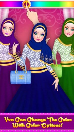 Android Hijab Fashion Doll Dress Up Screen 5