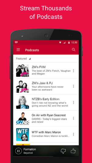 Android iHeartRadio Free Music & Radio Screen 13