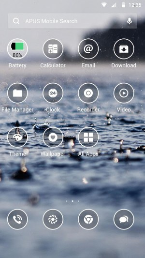 Android Simple Theme Screen 1