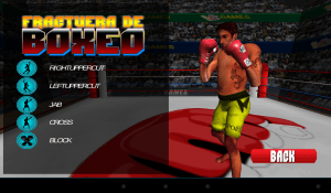 Android 3D Boxing Screen 1