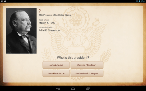 Android U.S. Presidents Screen 2