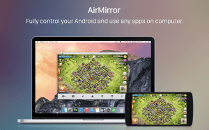 Android AirDroid: Remote access & File Screen 3