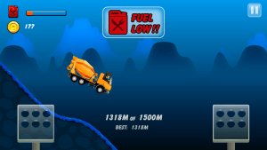 Android Hill Racing: mountain climb Screen 2