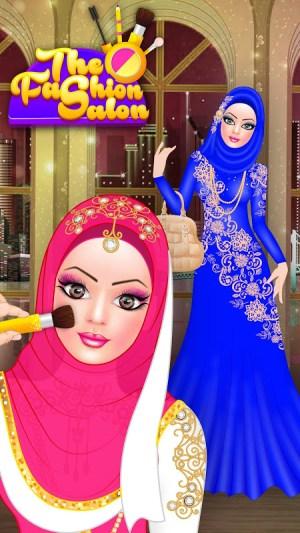 Android Hijab Fashion Doll Dress Up Screen 8