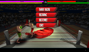 Android 3D Boxing Screen 3