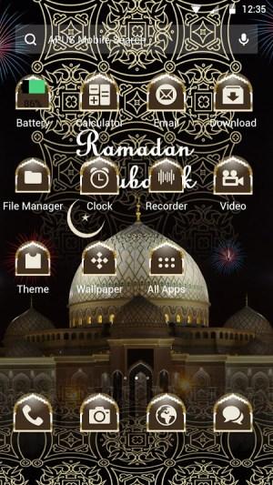 Android Taj Mahal Theme Screen 1