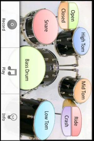 Android Drums Screen 1