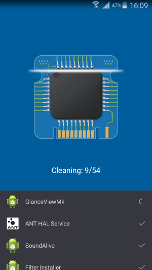 Android Booster Max Screen 2