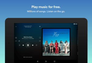 Android Spotify: Music Streaming App Screen 4