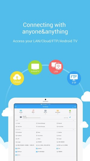 Android ES File Explorer File Manager Screen 4