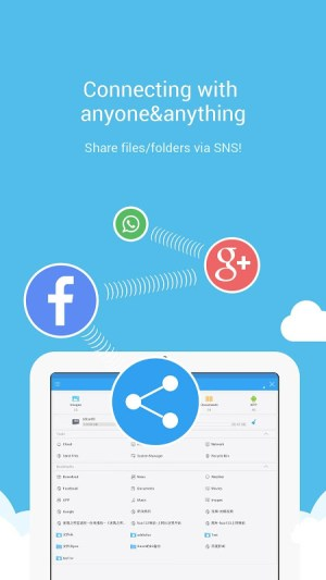 Android ES File Explorer File Manager Screen 3