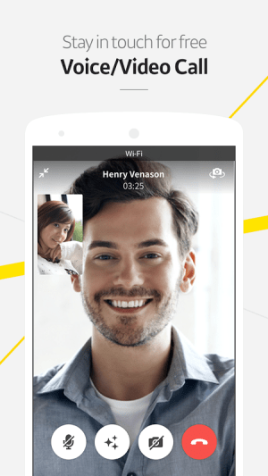 Android KakaoTalk: Free Calls & Text Screen 2