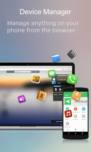 Android AirDroid: Remote access & File Screen 10