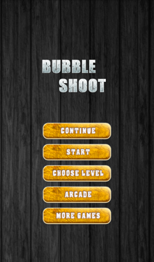 Android Bubble Shoot Screen 7