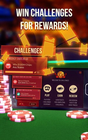 Android Zynga Poker Screen 3