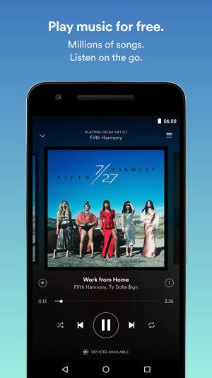 Android Spotify: Music Streaming App Screen 9