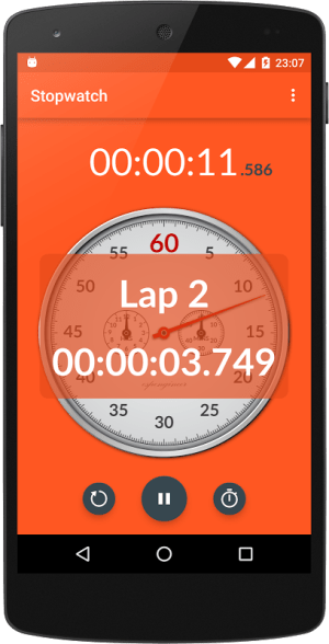 Android Chronometer Screen 8