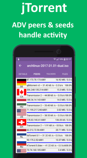Android Torrent Download Manager Screen 19