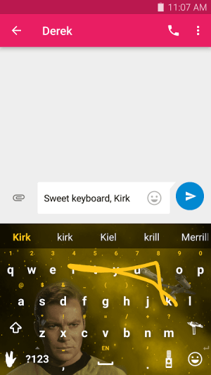Android Swype Keyboard Screen 17