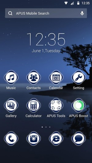 Android Quite and deep Theme Screen 2