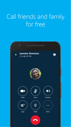 Android Skype - free IM & video calls Screen 7