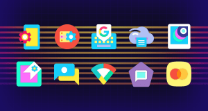 Android Ultra Icon Pack Screen 2