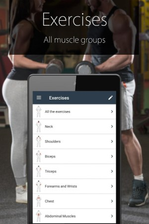 Android Fitness Coach FitProSport Screen 6