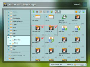 Android X-plore File Manager Screen 9