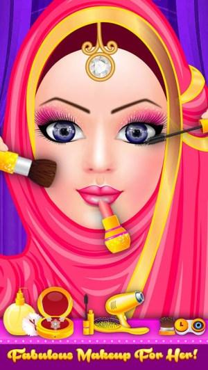 Android Hijab Fashion Doll Dress Up Screen 2