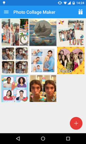 Android Photo Collage Maker Screen 4
