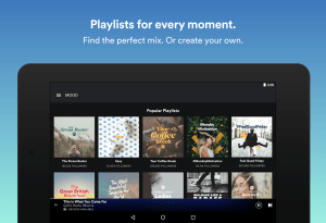 Android Spotify: Music Streaming App Screen 1