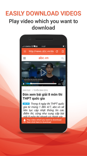 Android Download Video Free Screen 3