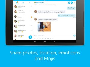 Android Skype - free IM & video calls Screen 4
