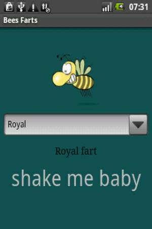 Android Bees Farts Screen 4